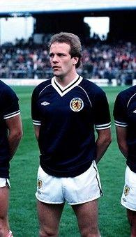 Andy Gray Scotland 1983