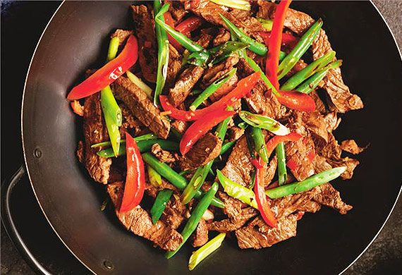 Beef and lemongrass stir-fry recipe - 9Kitchen
