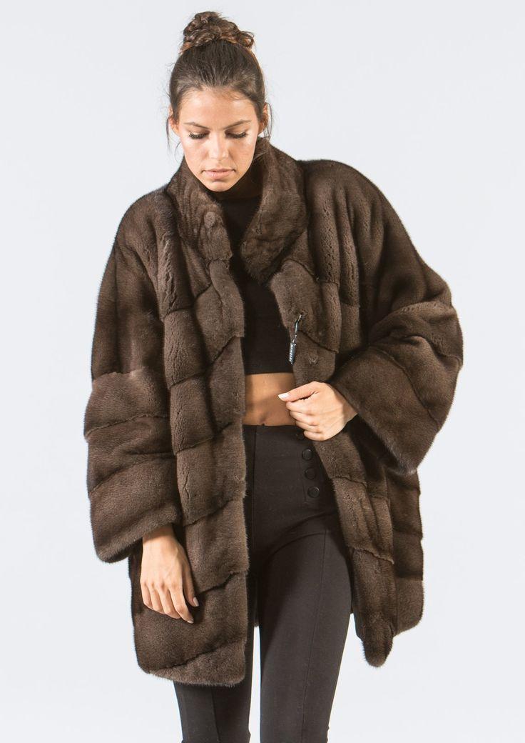 Dark Brown Mink Fur Jacket    #dark #brown #mink #fur #jacket #real #style #realfur #elegant #haute #luxury #chic #outfit #women #classy #online #store