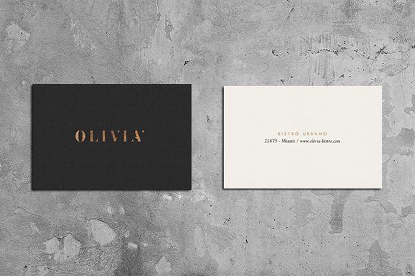 OLIVIA Bistro Urbano on Branding Served