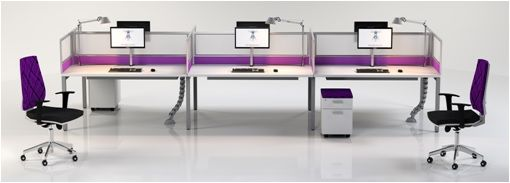 PLAN B / Straight Leg Feels larger and more open, creating productive working environments.