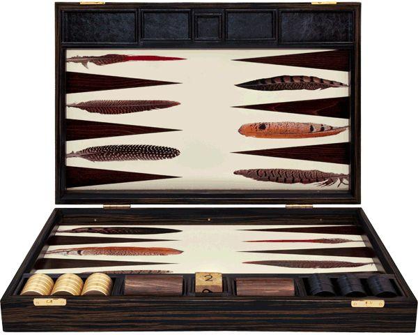 Pheasant Backgammon Board, £2,100 from alexandralldesign.com