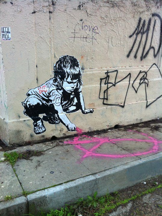 banksy | It appears that Banksy heard about the challenge we offered him last ...