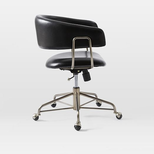 Halifax Leather Office Chair | West Elm