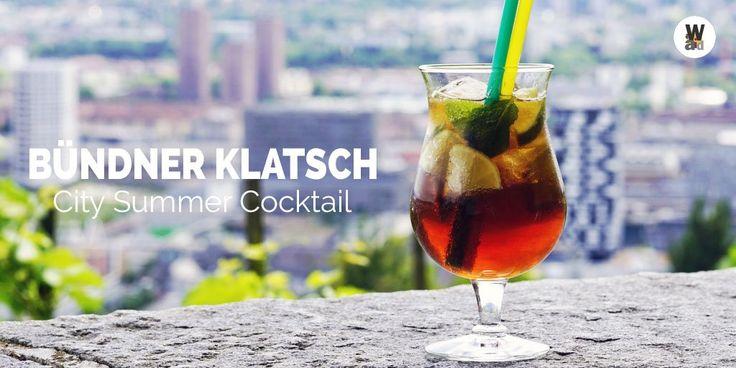 Der neue Sommercockail in der Waid  Bündner Klatsch! Ginger Ale Bündner Röteli Limette http://Pfefferminzpic.twitter.com/lHAH0qRhon