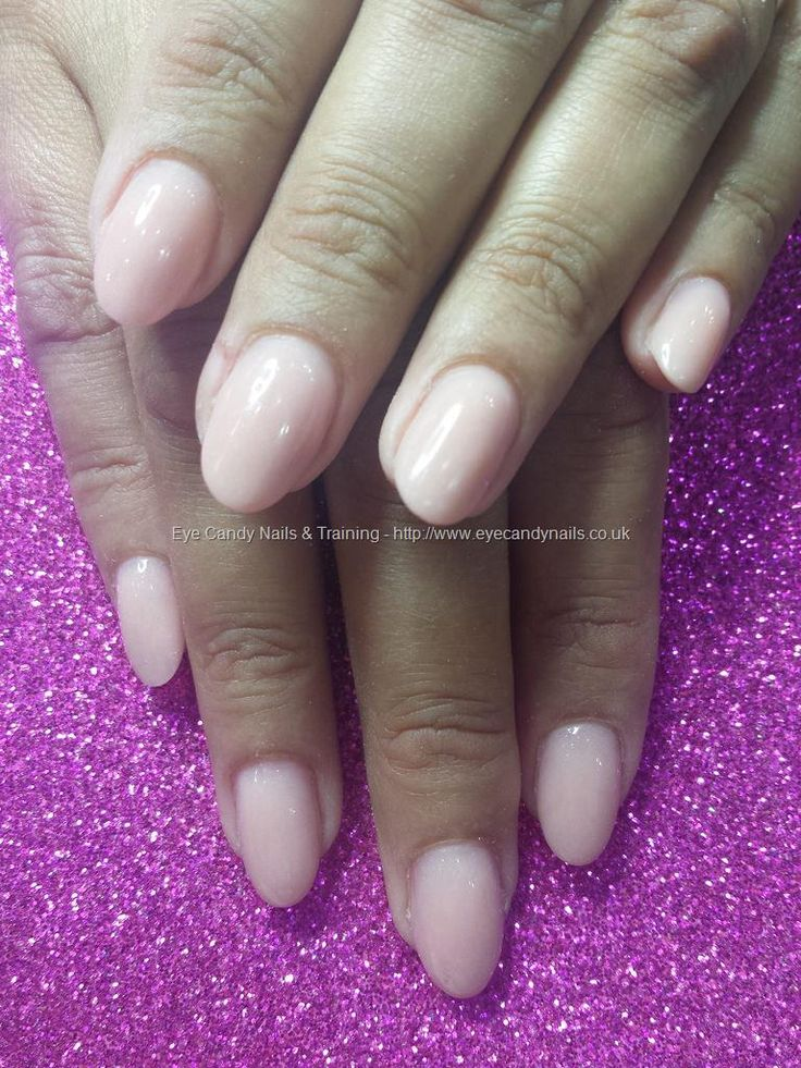 Peach blush acrylic overlays