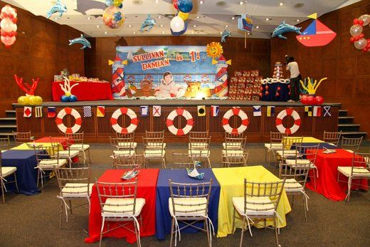 """Photo 2 of 84: Nautical/Cruise Ship / Birthday """"Cruise Ship Party"""" 