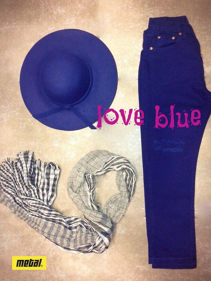 Feeling Blue??? *Ψηλόμεσο τζιν παντελόνι με σκίσιμο στα γόνατα. *Στρογγυλό καπέλο με φιόγκο. *Καρό φουλάρι σε συνδυασμό χρωμάτων. #metal #metaldeluxe #hat #jeans #trend #blue #bluejeans #bluehat #scarf #plaid #plaidscarf #highwaisted #fashion #clothes #autumn #happy #style #fall #mensfashion #womensfashion #fashionista #newarrivals #mensclothes #womensclothes #moodoftheday #picoftheday #chic
