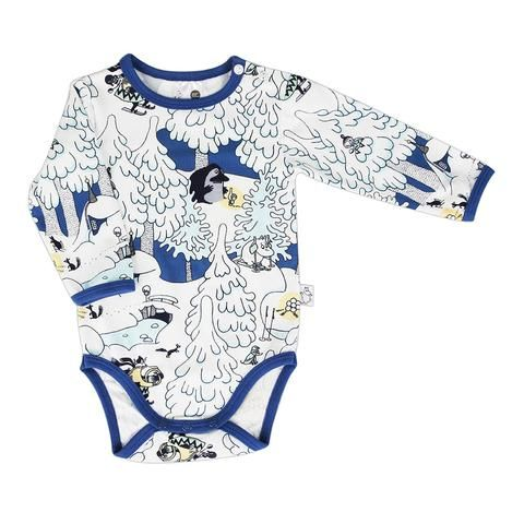 Moomin Midwinter bodysuit blue by Martinex