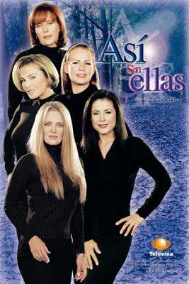 Así son ellas fue una telenovela mexicana escrita por Carlos Mercado Orduña y producida por Televisa en 2002 y 2003 de la mano de Raúl Ar...