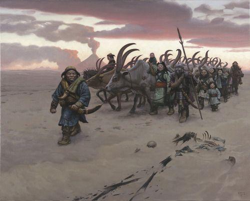 """Mark Zug: """"Sands of Gorgoroth"""" - Orocuen, orcos tal y como aparecen en """"El Último Anillo"""" de Kirill Yeskov."""