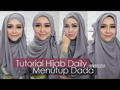 Tutorial Hijab Sehari-hari Hijabstyle Menutup Dada by Inivindy
