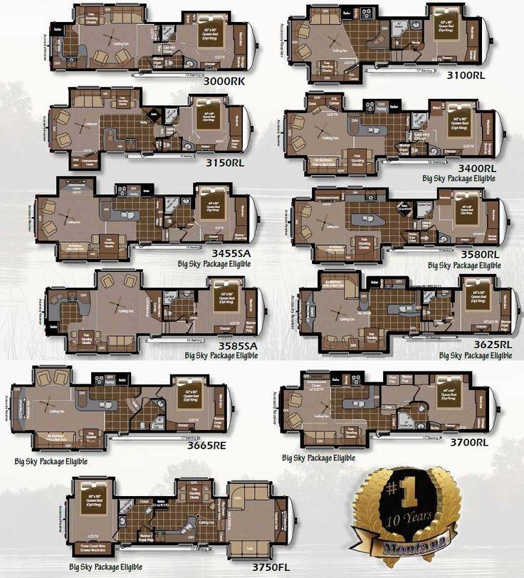 2007 Montana Rv Floor Plans