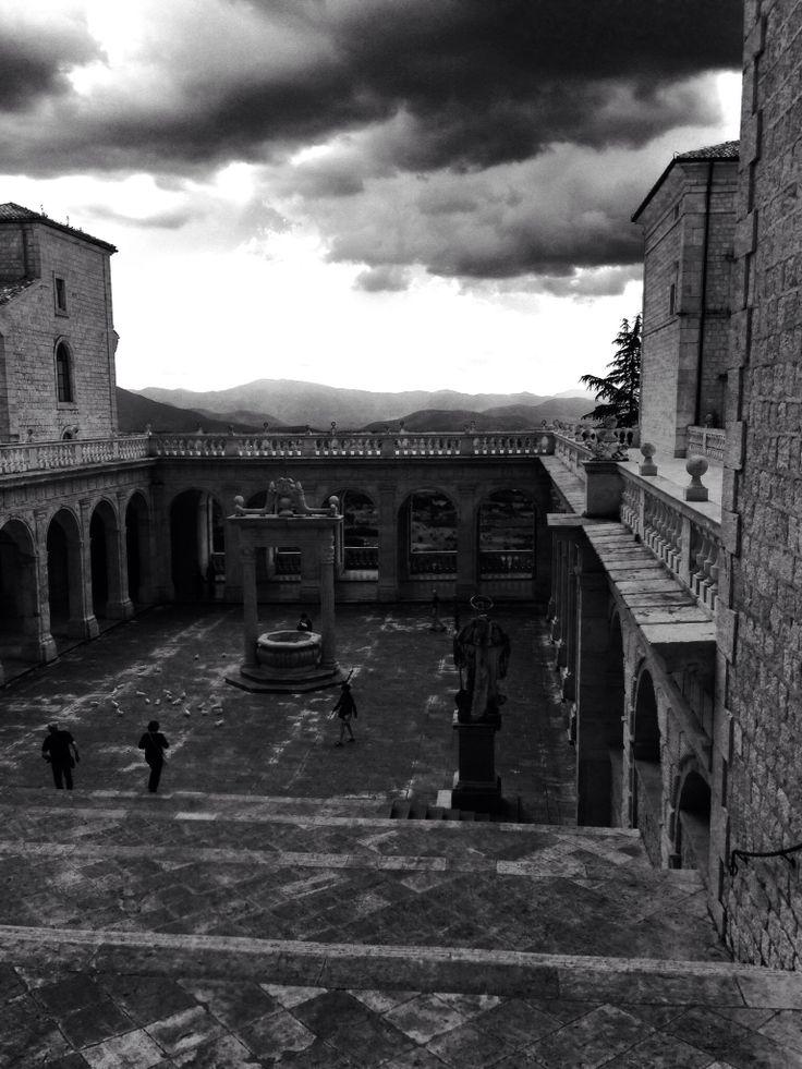 Atina Italy....Montecassino Abbey