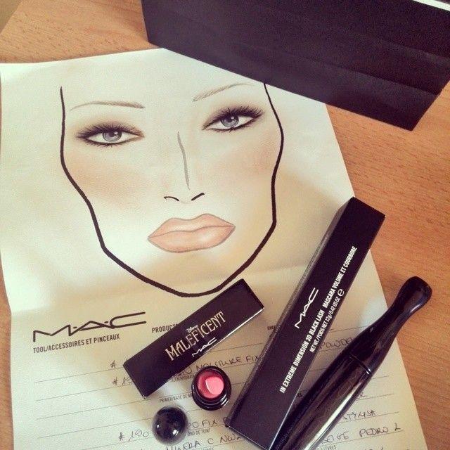 Maleficent, MAC, makeup