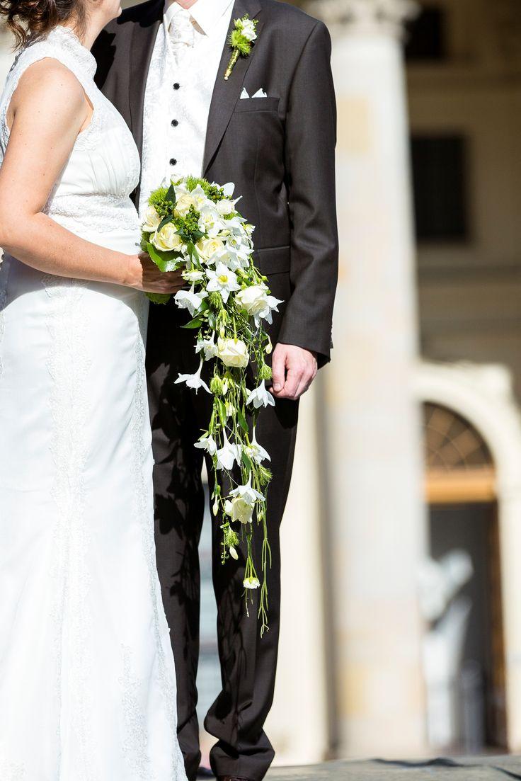 #brautstrauss #weddingbouquet #lilie #weiss #grün #weddingplanner #hochzeitsplaner #berlin  Foto: www.ka-foto.de