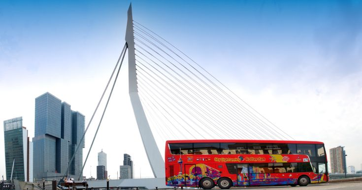 Explore Europe's largest port at your own pace with a 24 or 48-hour ticket for Rotterdam's hop-on hop-off sightseeing bus. Experience the city's cultural life and maritime heritage, and enjoy panoramic views of the architectural capital of Holland.
