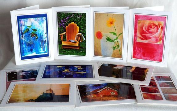 Kortpakke - 10 stk kort med konvolutt