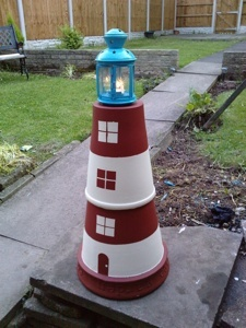 terra cotta light house