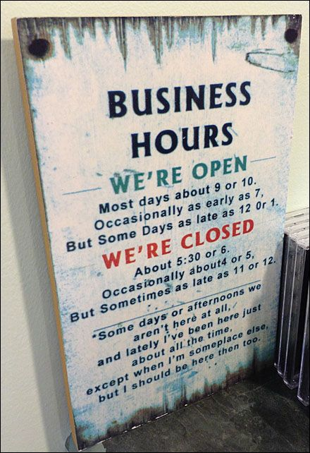 Complicated Business Hours Explained