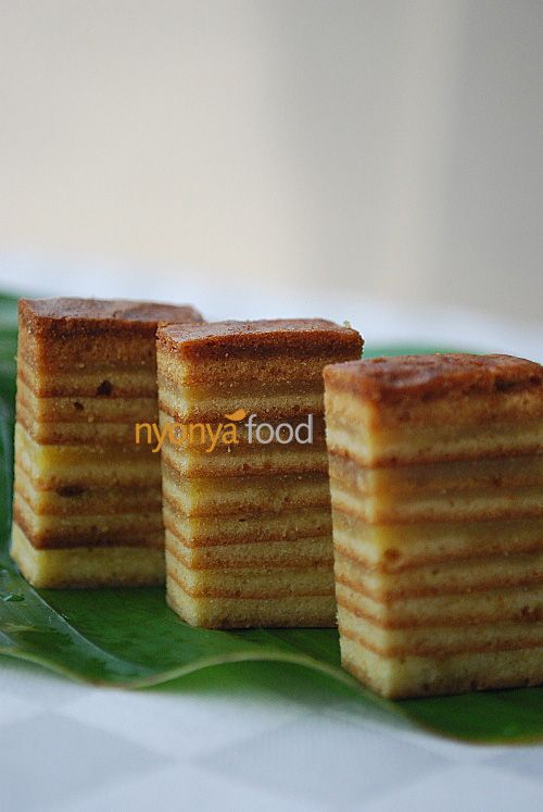 Kek Lapis (Indonesian Layer Cake) with an Americanized recipe : )