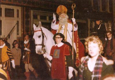 Sinterklaas intocht Breda 1962