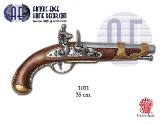 Denix Lewis & Clark Style Replica Cavalry Pistol, France, 1806