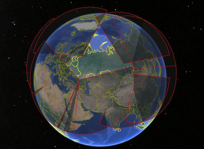 Voronezh Radar Coverage