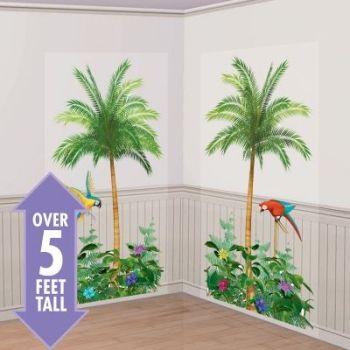 Palmträd scene 2st/förp. 85cm x 1,65m