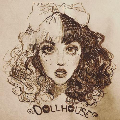 Dollhouse And Melanie Martinez Melanie Martinez Drawings Crybaby Melanie Martinez Melanie