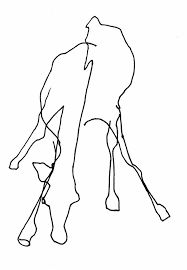 Image result for contour drawing