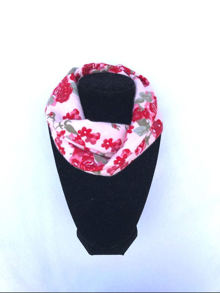 Jane Scarf - Pink floral Baby Infinity Scarf - Pink Toddler Infinity Scarf - Pink Scarves - Scarves for girls by PinkButterflyDesignz on Etsy https://www.etsy.com/ca/listing/539296137/jane-scarf-pink-floral-baby-infinity