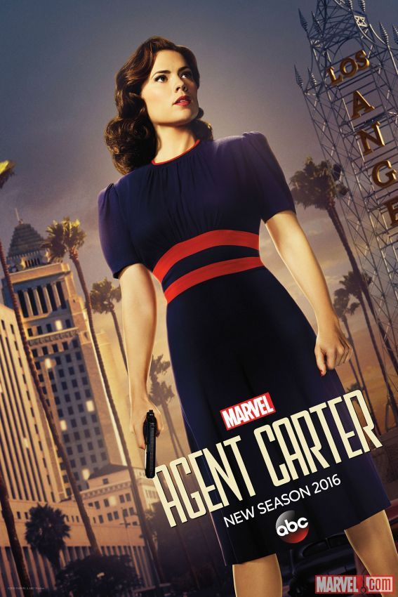 Agent Carter Stands Tall in the New NYCC Exclusive Poster