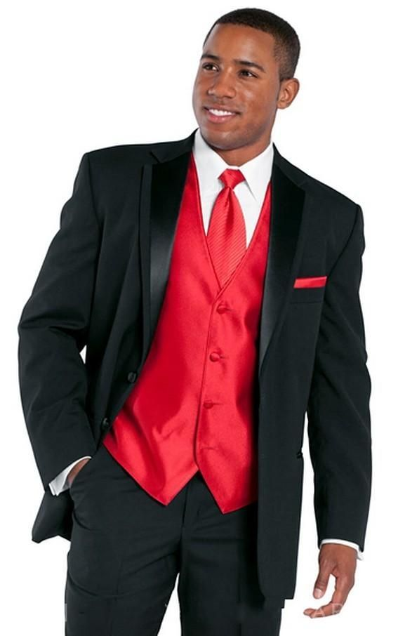 Old Fashioned White And Red Tuxedo For Prom Photos - Wedding Plan ...