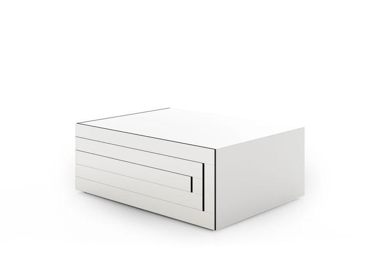 REK Coffee Table In White