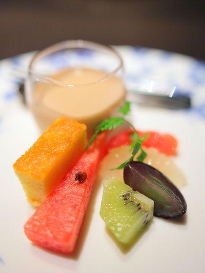 熊野倶楽部・夕食:水物