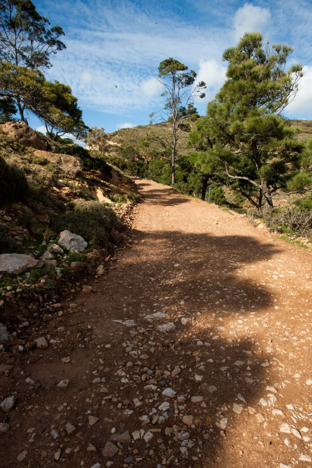 One of the most beautiful places to walk, on the island! Leros is a very diverse island and you can find very different sceneries from south to nort and from east to west...