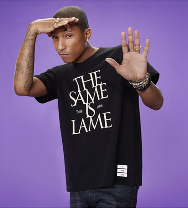Pharrell Williams & UNIQLO  #fashion #style #pharrel #pharell_williams #uniqlo