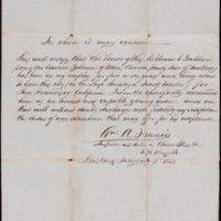 Baldwin Family Gold Rush Collection, 1849-1852.