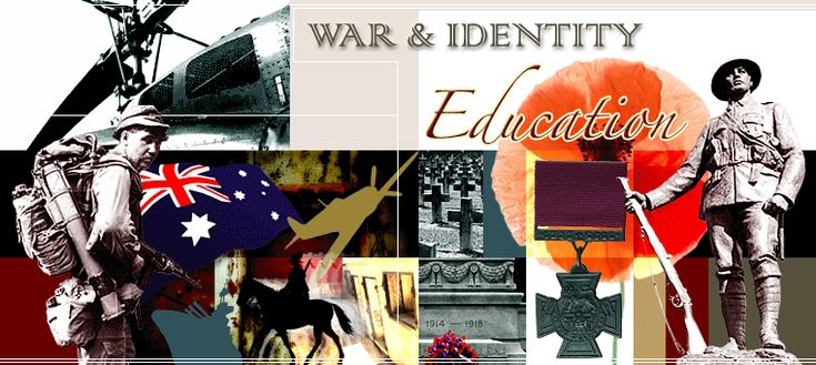 War and Identity education site contains a wealth of resources about Australia's military history and heritage for teachers and students