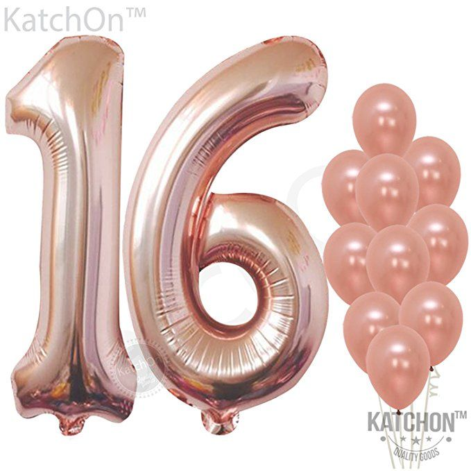 """Pink-color  32/"""" NUMBER FOIL BALLOON PARTY SUPPLIES"""