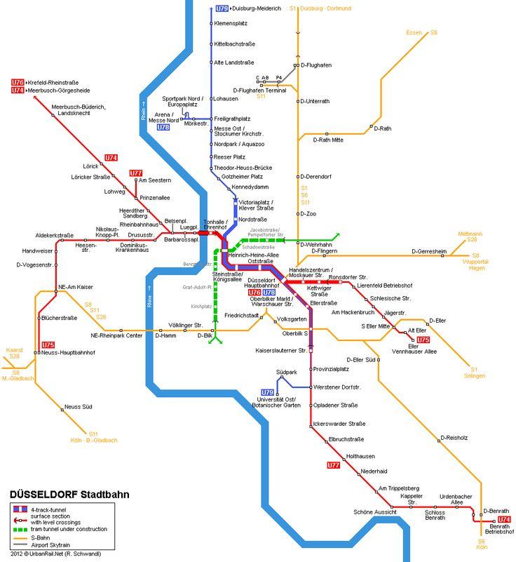 Best Europe Urban Metro Map Images On Pinterest Maps Subway - Germany underground map