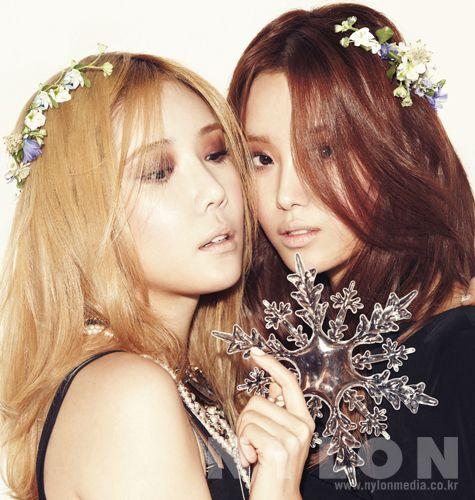 2014.01, NYLON, SECRET, Hana, Song Ji Eun