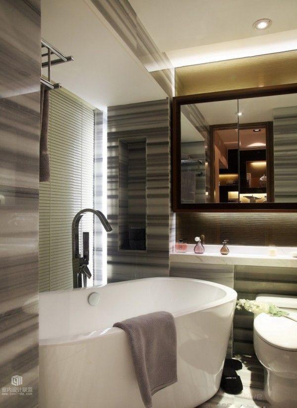 Behind A Sliding Door, The Master Bedroom En Suite Bathroom Finds  Perfection In Its Compact