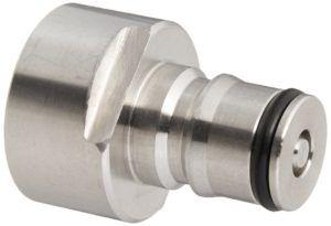 Kegco Keg Coupler Adapter Kit – Gas and Liquid Posts #homebrew