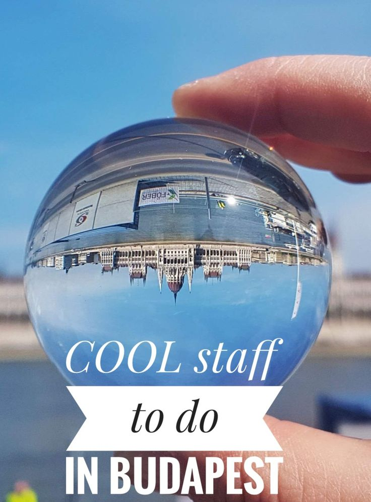 Looking for cool stuff to do in Budapest? Follow my tips to the unusual and the extravagant in the most beautiful European destination!