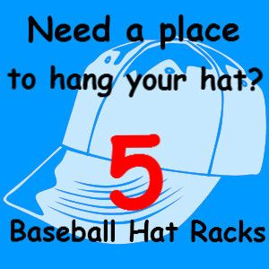 21 best images about baseball hat rack on pinterest for Baseball hat storage solutions