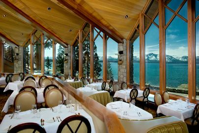 Such a stunning view from the dining room at Edgewood Tahoe in South Lake Tahoe! Dreaming of a destination wedding your guests will never forget? Choose South Lake Tahoe and make your wedding an event to remember. #destinationwedding #Tahoewedding www.tahoeweddingsites.com