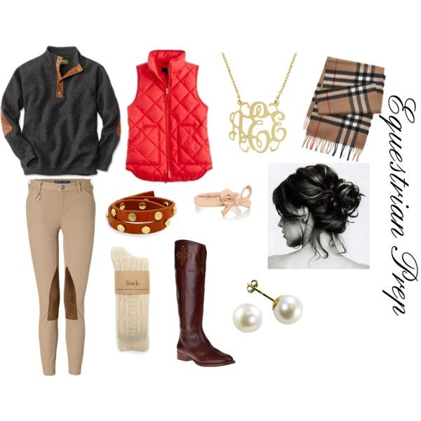 """Equestrian Prep"" by sweetprep101 on Polyvore"