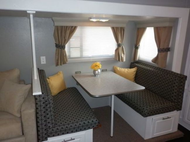 17 best ideas about travel trailer decor on pinterest camper rv organization and trailer remodel. Black Bedroom Furniture Sets. Home Design Ideas